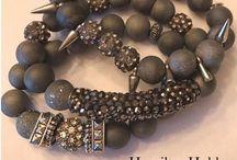 HAMILTON HOBBS / One of a kind hand made beaded bracelets! I simply adore them❤️ http://www.hamiltonhobbs.com