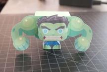 CRAFT: papercrafts