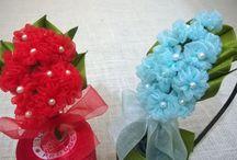 D.I.Y. Organza Flower Tutorial