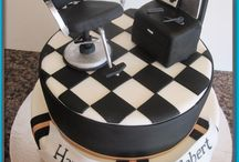 Barber Hair Stylist Cake