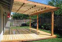 Simple coverings patio