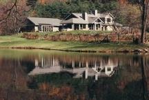 Mountain- Lake- House