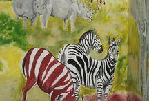 Falfestéseim - my wall paintings