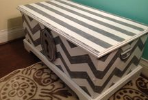 Painted Storage Chests / Decorate a vintage chest with a new finish and attitude. / by Barbara Elson