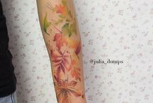Autumn tattoo