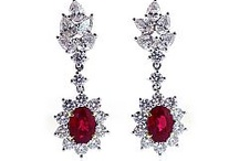 Fire & Ice / Rubies are July's birthstone, and the burning red glow symbolizes everlasting love.