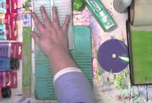 art: Gelli Plate stuff... / by Susie Carranza Studio