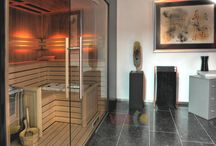 Sauna / Custom made saunas and infrared saunas - Op maat gemaakte  sauna's