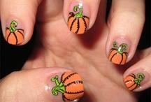 Halloween / Thanksgiving / Fall Nails