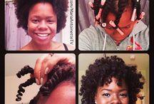 Natural Hair! / by Shawonika Green