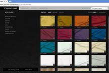 Online productfinder: gordijn- en meubelstoffen zoeken / Bij een groot aantal van onze partners kun je online door de meubel- en gordijnstoffencollecties bladeren.