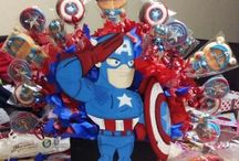 "Eventos ""Capitan America"" / Fiesta"