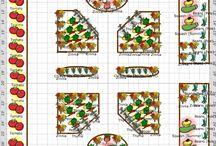 planos de jardins