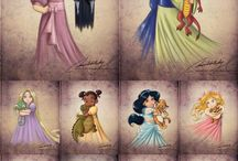 Princesse disney enfants