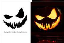Stencil Halloween pupor