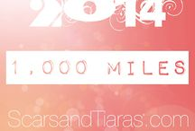 1,000 Miles in 2014 for Violence and Abuse Awareness