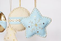Home - Holidays: Christmas Ornaments / neat DIY ornament ideas