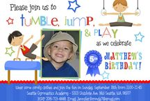 Kids Party - Gymnastics themed