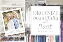 NEAT method shop / We've partnered with NEAT Method to bring you their favorite organizing products, tips and ideas to live The NEAT Life! You can shop the NEAT Method SHOP at The Organizing Store. / by THE ORGANIZING STORE