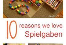 All about Spielgaben
