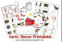 Farm Animals:  General Ideas / by Bonnie Wolf