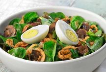 Awesome Salads! / Salads...Not just a side dish anymore! / by Sandra Weir