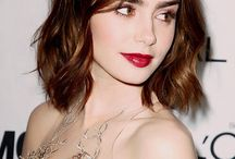 Actrice lily Collins
