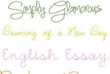 teacher handwriting. / by Emily Perakes