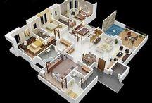 Casa grande térrea 4 quartos