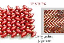 gyöngy karkötő minta - bead bracelet pattern / gyöngy karkötő minták
