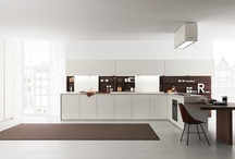 Zampieri cusine Axis 012 / With Axis012, the Axis programme is modified in terms of thicknesses and includes new elements for a kitchen which reworks the values of the past in a modern key.