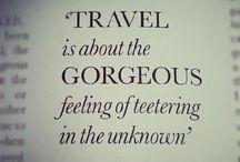 Travel Quotes / by Fashion Fella