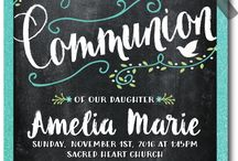First Holy Communion Invitation Ideas!