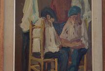 PITTORI SARDI, TORE CANU / Mia piccola collezione di dipinti del pittore Tore Canu