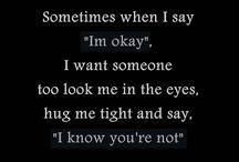 Just sayings