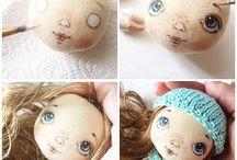 obličej na panenku