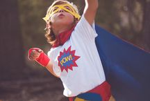 Superkid Capes - Super hero capes and accessories / Superkid Cape favorites! From popular super hero themes to personalized super hero capes to SUPER accessories and hero masks. / by Brooke Fuller