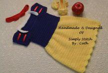 snow white dress crochet
