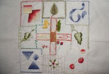 Long and Short stitch Samplar / This sampler I embroidered in 2011 when I first started embroidering, taken from Mary Corbet's Needle n' Thread