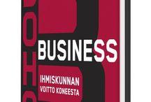 Hubin kirjasto / Hubin loungessa käytettävissäsi on monipuolinen kokoelma uusinta yrittäjyys- ja bisneskirjallisuutta!