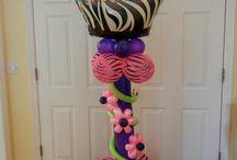 Balloon Column Ideas / Balloon Decor for all occassions.