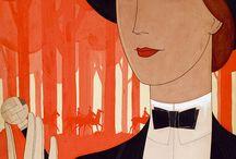 Art Deco Paintings I KIESELBACH