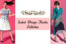 Latest design kurtis collection / Buy Kurti tops for women at offer price from latest Indian Kurti catalogues. Free shipping in India available for these Embroidered trendy kurtis. Shop Now-http://bit.ly/1PhAMDt