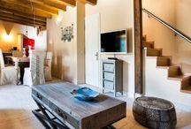 Bompani & Grecia / Elettrodomestici Bompani in resort di lusso in Grecia  #imerovigli