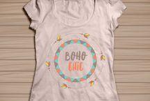 T-Shirt Design / T-Shirt Design, Stamps, Design for Prints
