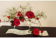 compo florale moderne