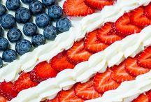 Patriotic theme foods