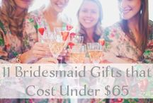 Wedding Gifts Ideas and Reviews / Gifts ideas and reviews for everyone from the bride and groom, to parents to the whole bridal party.  / by Love & Lavender | Wedding Blog