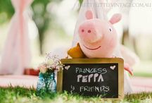 Peppa PIG Oink / Everything about a Peppa Pig Party! Peppa Pig Ideas #peppapig #peppapigparty #peppa