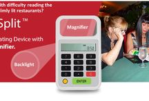 Gifts for Parents / New product to help people read the menu or bill in dimly lit restaurants.